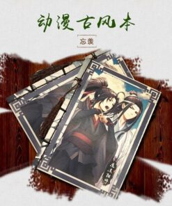 Notebook Diary Anime Ancient-Style Around Zu Dao 1-Pc Mo Weekly Shi