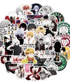 Sticker Decal Bicycle Backpack Luggage Pegatinas-Toy Laptop-Skateboard Gift Tokyo Ghoul