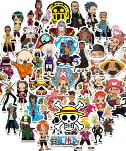 Stickers Skateboard Notebook Computer Mobile-Phone Motorcycle Japanese Anime One-Piece