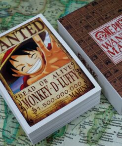 Whole-Character-Series Order Anime One-Piece 100sheets/Set Wanted Wish-Card/christmas-Gift