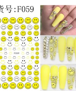 Nail-Stickers Anime Decal Decorations Cartoons Diy 10pcs Template Fdd-Series