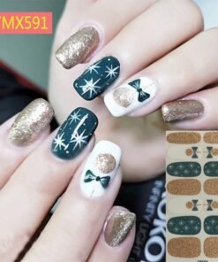 Stickers Foils-Decoration Decal False-Nail-Parts Manicure Beauty with Anime Printing