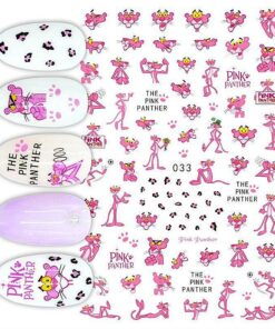 Nail-Sticker Repair-Decal Duck-Nail-Decoration Mickey-Mouse Anime Snow-White Princess