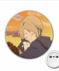 Brooch Clothes-Accessories Anime for Backpacks Bags Button-Badges 1pcs Natsume Pins Yuujinchou