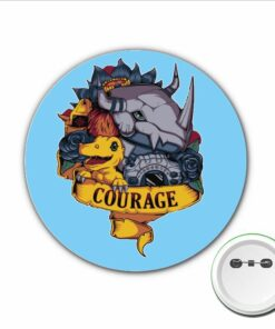 Badge Clothes-Accessories Anime for Backpacks Bags 1pcs Brooch Game Monster Cosplay Cartoon-Pins