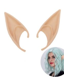Costume Ears-Tips Elf Soft Anime Dress-Up Cosplay Pointed Party Fairy-Pixie Brand-New