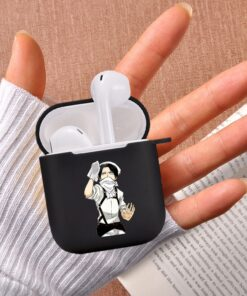 Airpod-Case 2-Cover Japanese Anime Soft-Silicone Wireless Earphone for Apple Coque-Fundas
