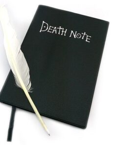 Writing Journal Book Note-Planner Dead-Note Death Anime Diary Cosplay Large Cartoon Fashion