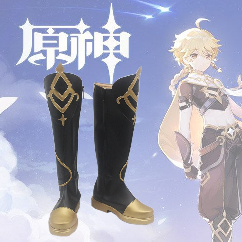 Cosplay Costume Party-Outfit Gothic-Uniform Halloween Genshin Impact Traveler Game-Suit