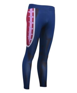 2020 Summer New Men's Fitness Anime 3D Printing Compression Trousers Breathable Quick