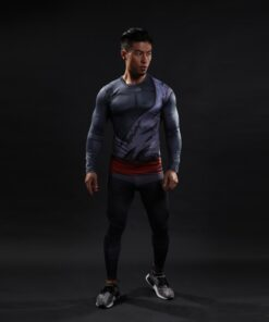 2021 Fashion Men Women 3D T shirt outdoor sport Anime Cosplay Compression Tight Slim