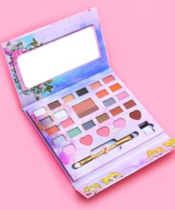 Eyeshadow Pallete Make-Up Sailor-Moon Anime Professional Girl 27colors Cute Gift Lazy