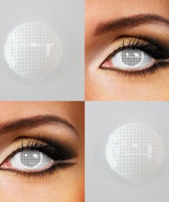 Red Cosmetics Contact-Lenses Mesh-Series Cosplay Colored Lentillas 2pcs/pair for Eyes