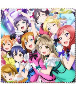 Eyeglass Laptop-Screen-Cleaner Idol-Project Clean-Cloth Anime Live Colorful School Love