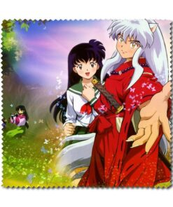 Lens-Glasses Inuyasha Clean-Cloth Anime with Moneca Stori Eyewear-Accessories Eyewear-Accessories