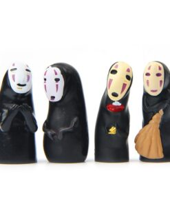 Action-Figure Character-Collection Spirited Away No-Face Cute Anime Kawaii Model-Toy