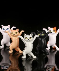 Toy-Doll-Ornaments Kitty Cat-Figures Enchanting Cat-Table-Decoration Anime And of 5-Types