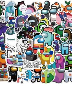 50pieces/Set 200 Different-Stickers Among Laptop Fridge Wall-Decor for Car No-Repeat-Toys