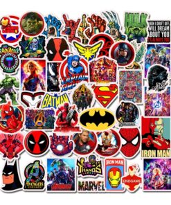 Toy Computer-Sticker Trolley Luggage Laptop Motorcycle-Phone Marvel Movie Travel Anime