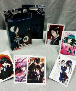 Black Butler Poker-Cards Anime Gifts And Comics Character-Collection Christmas 54-Sheets/Set