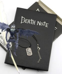 Note-Pad Journal Anime A5 And for Gift D40 Necklace