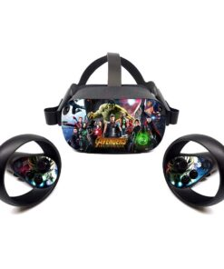 Decal Skin Action-Stickers Vr-Headset Vinyl Oculus Quest Wrap-Cover Protective Durable