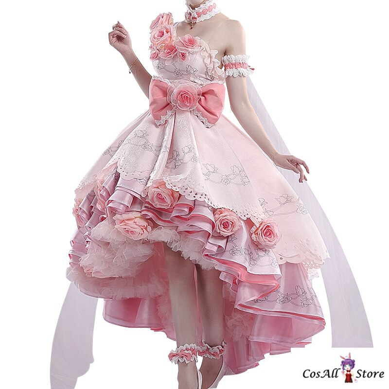 Dress Cosplay Costume Party-Outfit Anime Halloween Girls Princess for Women One-Day-Siya