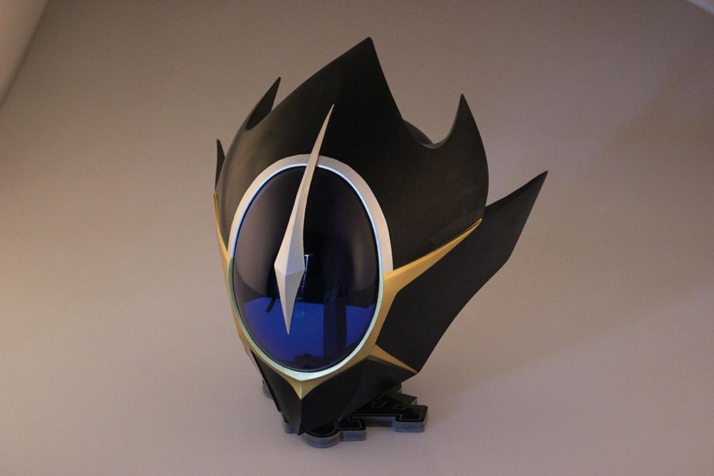 Helmet Code-Geass Anime Cosplay for Lelouch-Mask with Arylic-Visor Party-Props Lamperouge