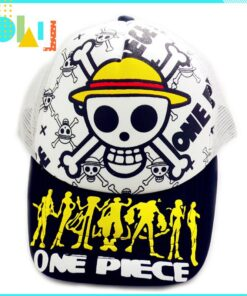 Hat One-Piece Outdoor White Summer Anime of Casual for Activities Mesh Color-Cap Skull