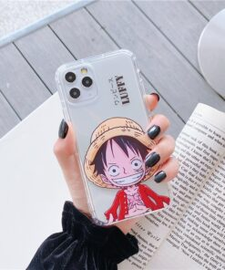 Anime Classic Japan One Piece straw hat Luffy Zoro case for iphone 12 11 Pro Max X XS