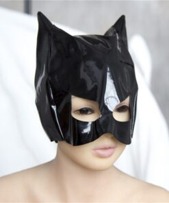 Costumes Cosplay-Props Half-Face-Mask BDSM Disguise-Accessories Sexy Cat for Anime Lady