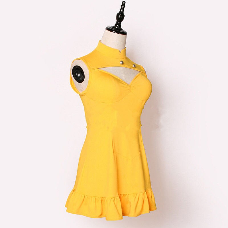 Diane Cosplay Dress Costume Party-Clothing Anime Girls Yellow Seven-Deadly-Sins Synthetic