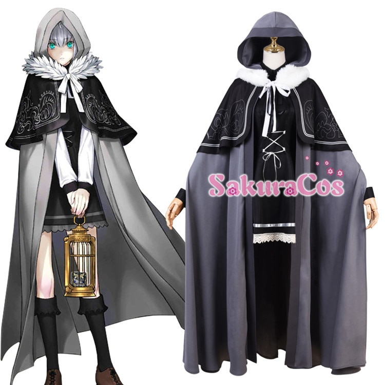 Cosplay Costume Outfit Cloak Halloween-Suit FGO Anime Lord with for Women New Files Case