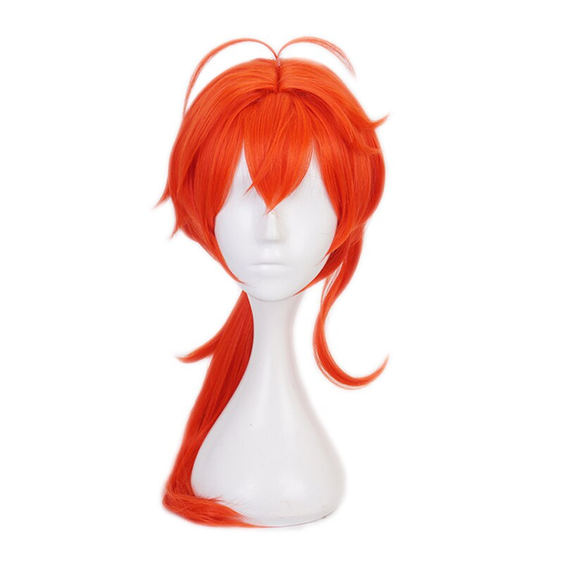 Costume Halloween Game-Suit Party-Outfit Uniform Cosplay Anime Genshin Impact Men Diluc