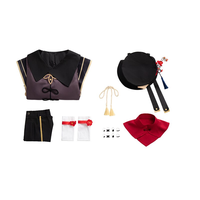 Costume-Uniform Genshin Impact Cosplay Hu Tao Halloween Game-Suit Party-Outfit Customized