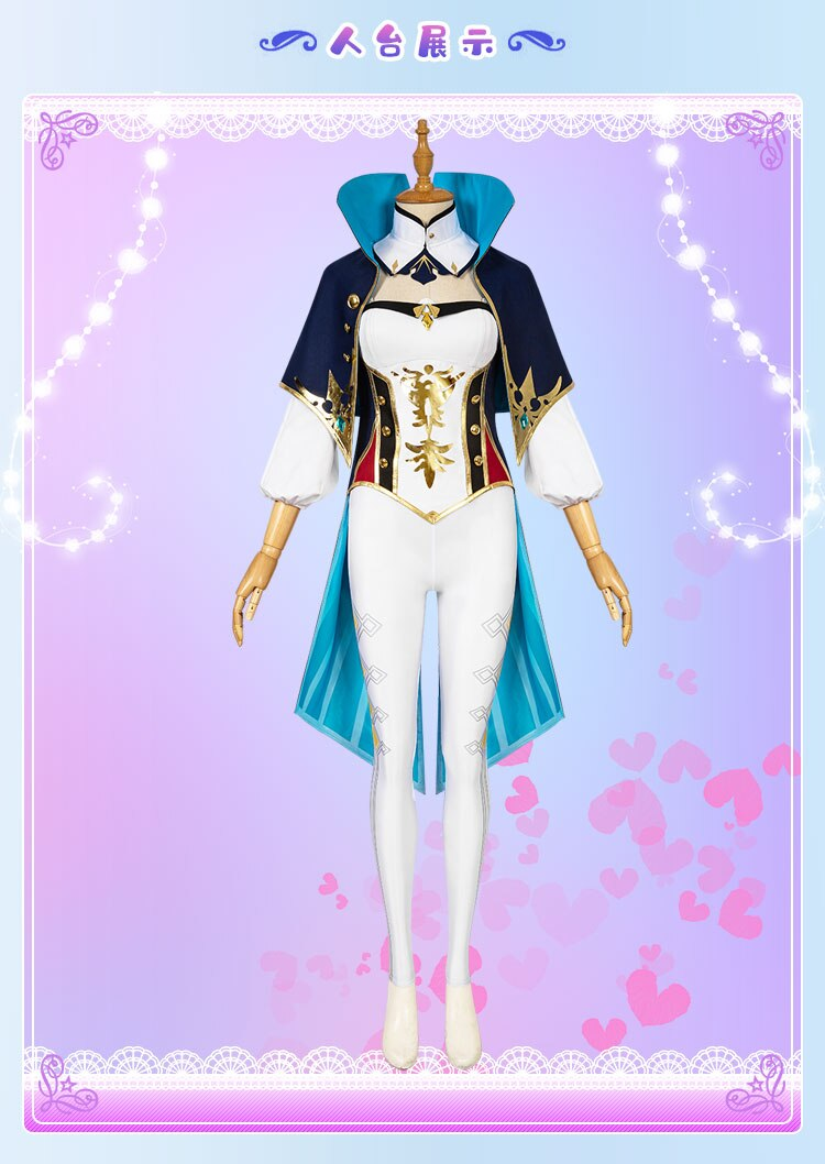 Cosplay Costume JEAN Game Genshin Impact Suit Party-Outfit Anime Halloween Girls