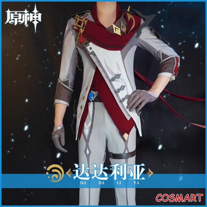 Uniform Cosplay Costume Genshin Impact Halloween Game-Suit Party-Outfit Anime Men Ya