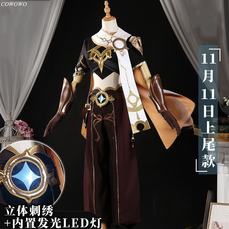Cosplay Costume Gothic-Uniform Genshin Impact Game-Suit Party-Outfit Anime Halloween