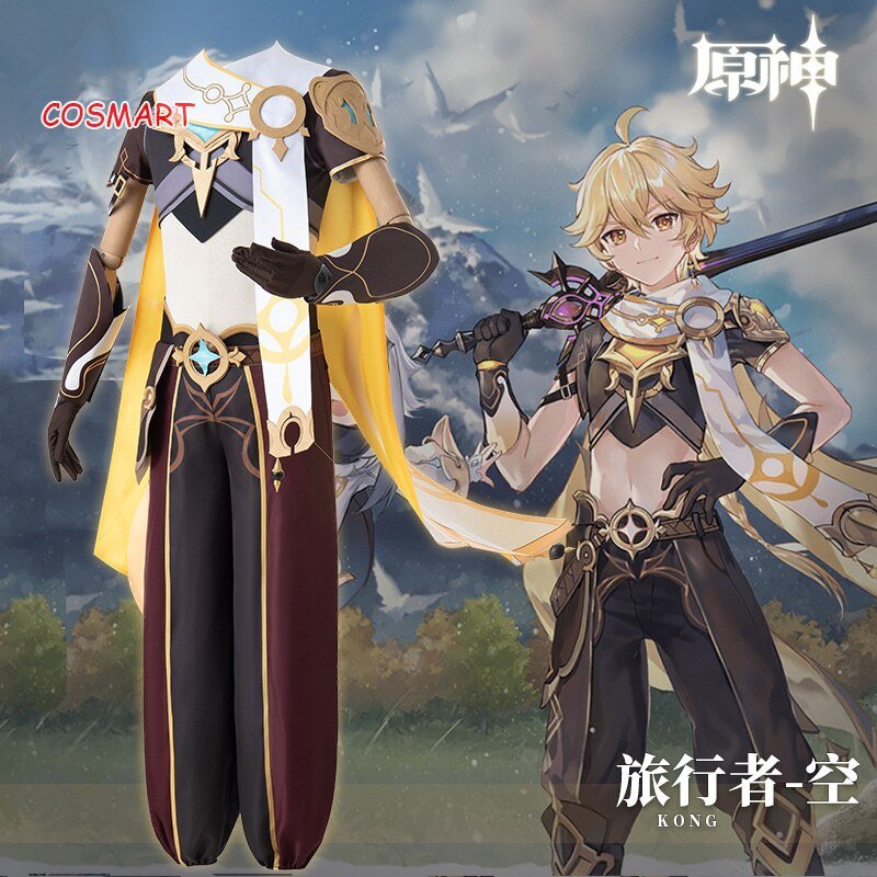 Costume Halloween Uniform Cosplay Genshin Impact Paimon Outfit Game-Suit Customized Anime