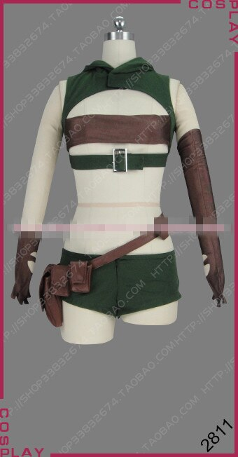 Costume Sexy Barbara Cosplay Fantasy Anime Custom-Made/size-Shorts And Top Tupe-Top Grimgar