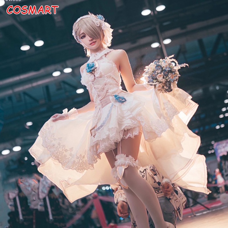 Cosplay Costume Wedding-Dress Rita Honkai Impact-3 Outfit Halloween-Suit Anime Rossweisse