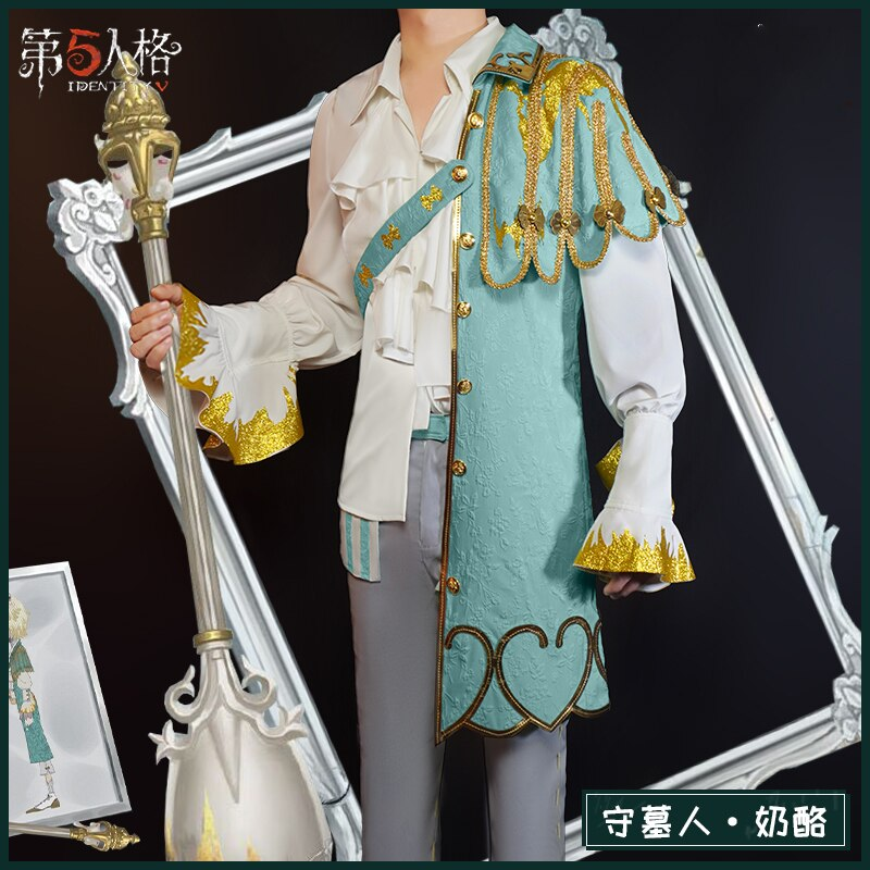 Cosplay Costume Identity-V Halloween-Outfits Anime Game for Women Uniform Cheese-Game-Suit