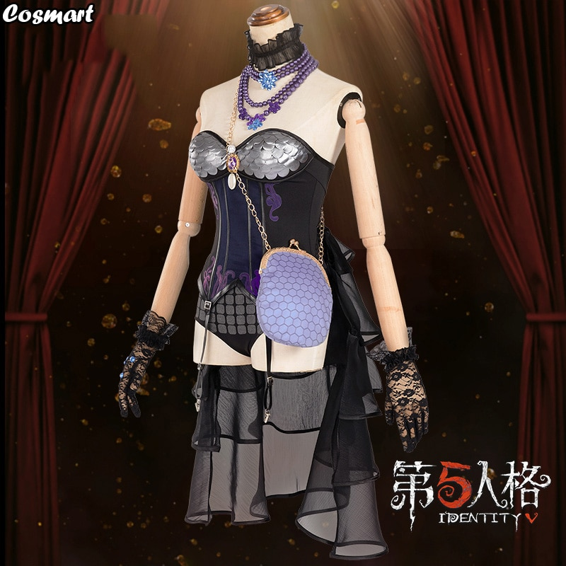 Dress Cosplay Costume Gold Identity-V Outfit Halloween-Suit Anime for Women New Skin