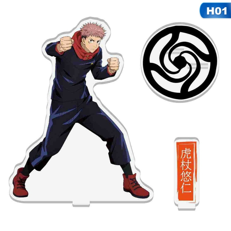 Plate-Holder Stand Figures Acrylic Teenagers Anime Jujutsu Kaisen Gift for Models