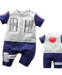Jumpsuits Naruto Cosplay Anime Newborn-Baby Baby-Boy-Girl Rompers Toddler Infant Short