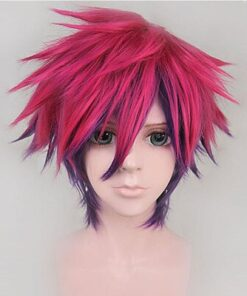 Cosplay Wig No-Game Anime No-Life Synthetic-Hair Sora Free-Wig-Cap Fluffy-Layered Heat-Resistant