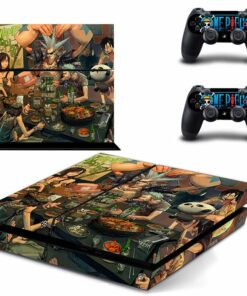 PS4 Stickers Skins Controller Play-Station Vinyl Anime Decals-Cover One-Piece for Console