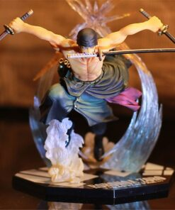 Figure-Model Action-Collection Zoro Ghost-Cut Luffy Anime One-Piece Ronoa PVC 3d2y-Three-Knife