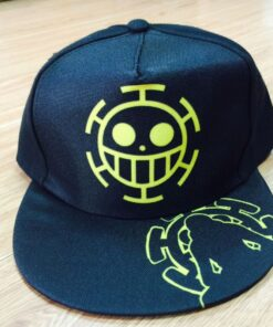 Anime One Piece Trafalgar Law Ace Cap Casual Outdoor Hip-hop Hat of Cospaly Styles