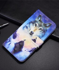 Anime Phone Case for Samsung Galaxy A01 Case Luxury Flip Silicone Wallet Stand Book Cover
